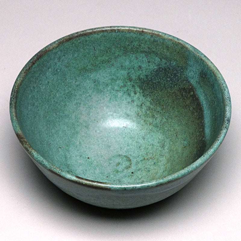 Small Bowl in Green Matte Glaze