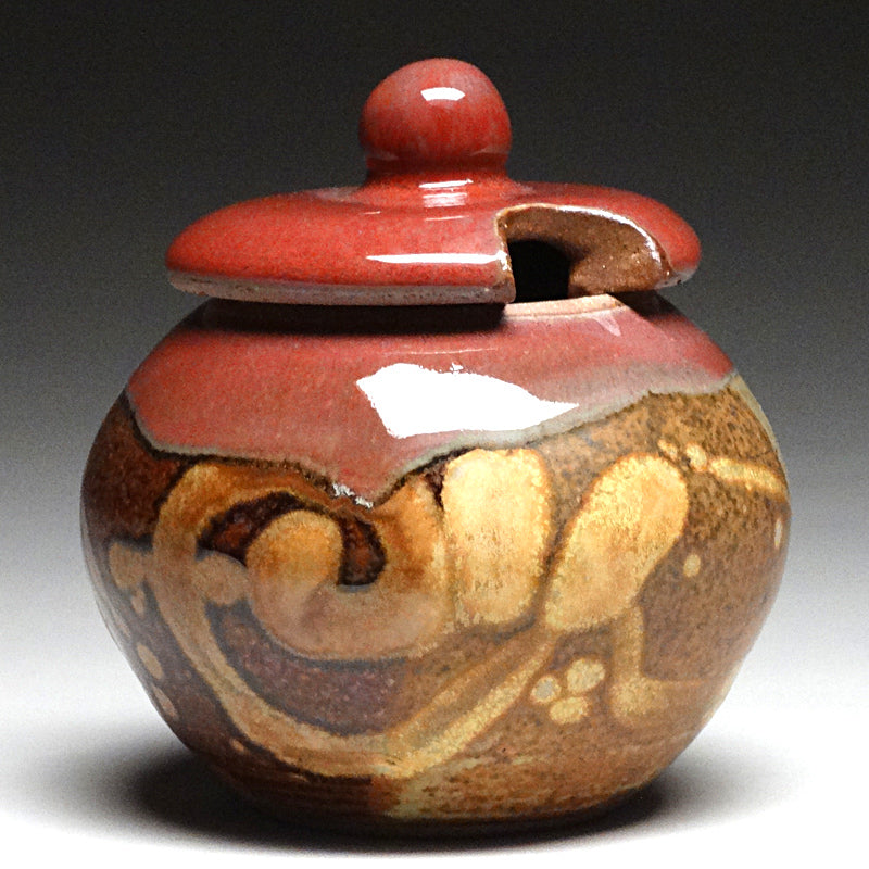 Sugar Bowl in Chautauqua Glaze