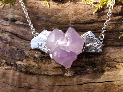 Purple Mountains Necklace
