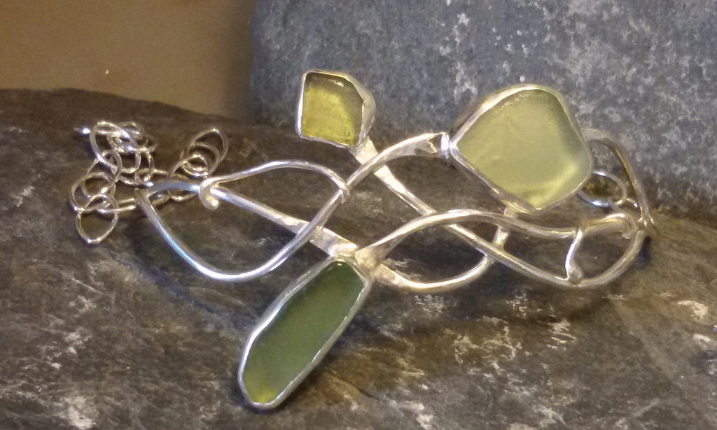 Scottish seaglass bracelet