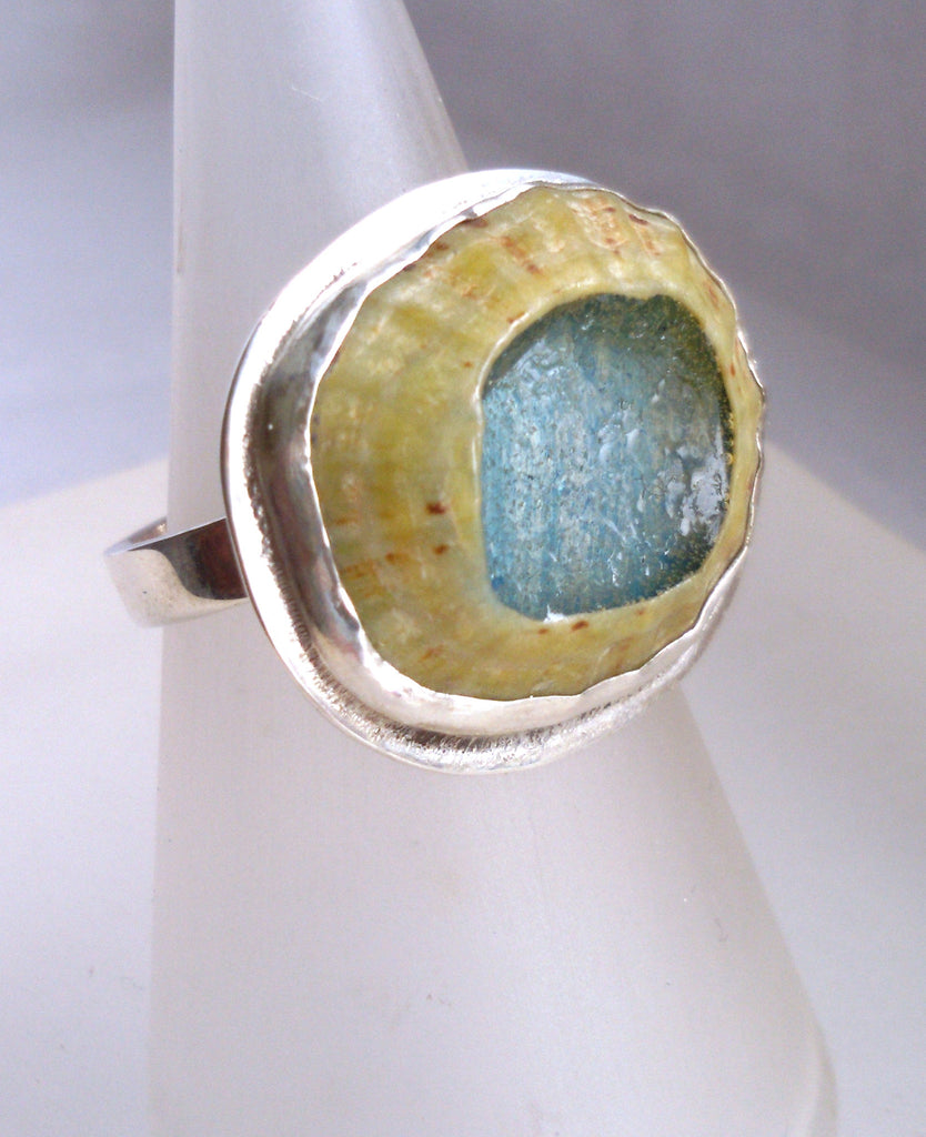 1618 Rockpools Ring size P