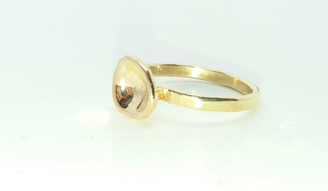 Gold Waterflower Ring