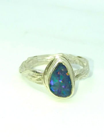 Opal Drizzle Ring