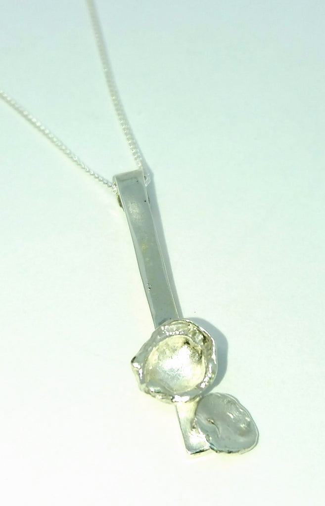 1733 Short Waterflower Pendant