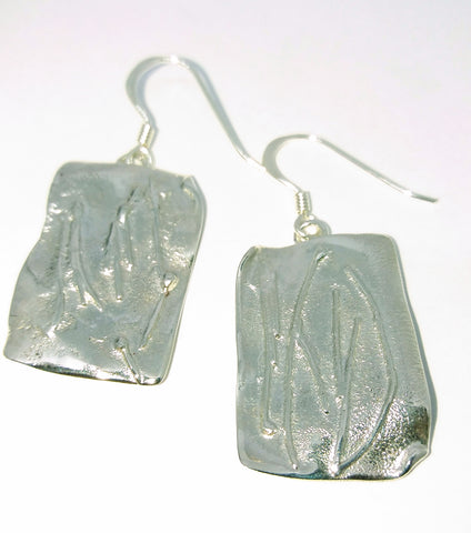 1758 Large Melt Drop Earrings