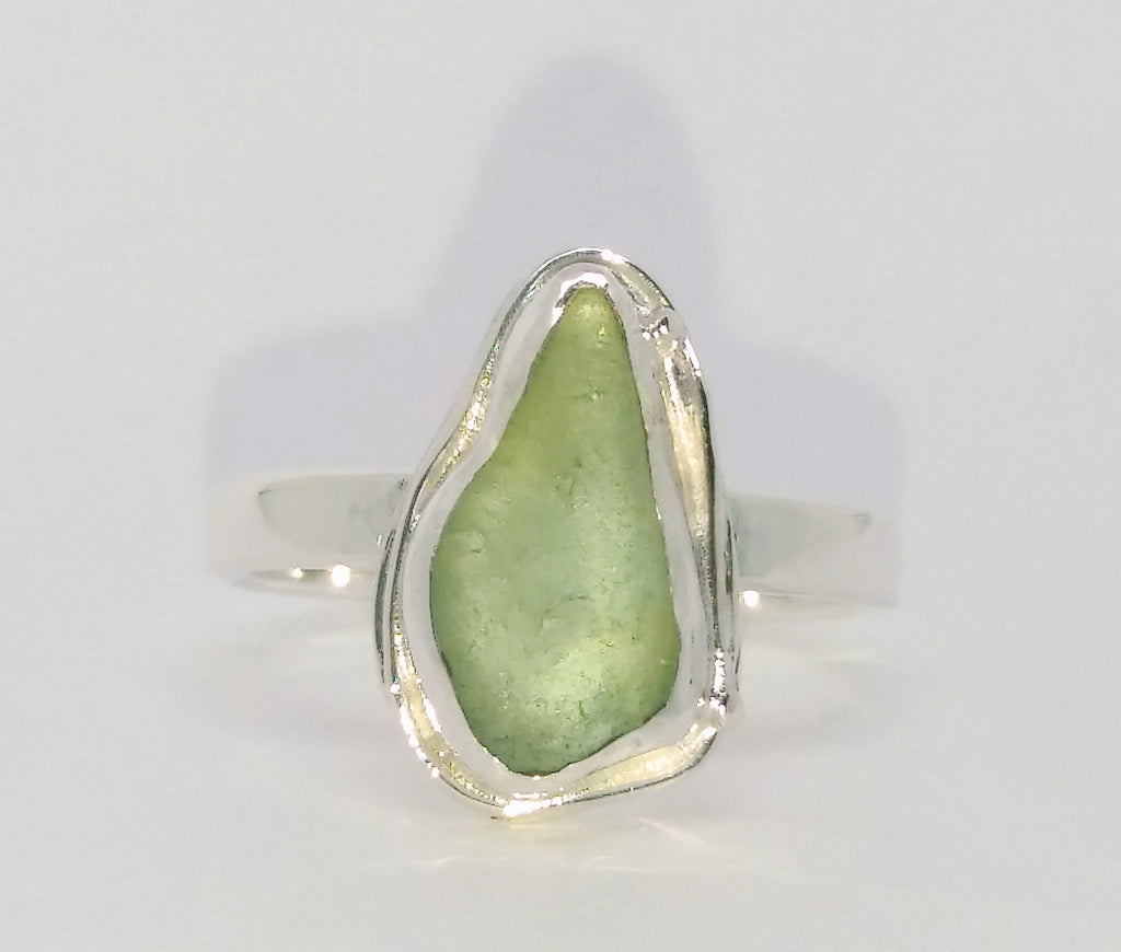 Scottish Seaglass ring