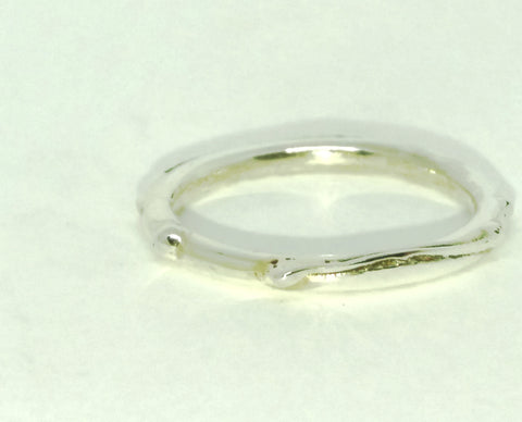 Wound Halo Ring size K