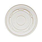 330-001-115 Natural CPLA Lid fits 12/16/32oz  PLA Soup/Food Cup