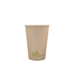 115-500-012 Hot Cup EarthPro 12oz. Compostable Natural Paper, Stock Print
