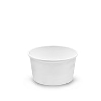 SC12WHT - 12 oz. White Paper Soup/Food Container
