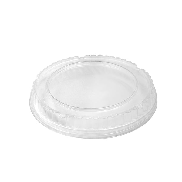 325-004-165 Clear PP Vented Dome Lid fits 32oz. Paper Bowl