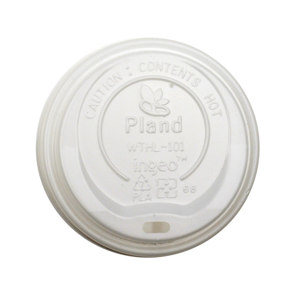 330-002-090 CPLA EarthPro PLA Hot Cup Sip Lids fits 12/16/20 oz.