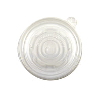 LSC12C - 118 - Clear Flat Lid fits 12/16/32 oz. Soup/Food Container