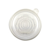 325-001-115  Clear PP Vented Lid fits 12/16/32oz. Soup/Food Cup