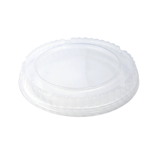 325-004-188 Clear PP Vented Dome Lid fits 38oz. Paper Bowl