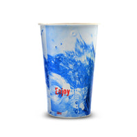 110-101-016 Paper Cold Cup, 16oz Enjoy Splash Design