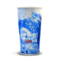 110-101-020 Paper Cold Cup, 20oz. Enjoy Splash Design