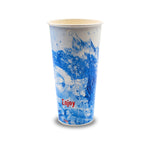 110-101-022 Paper Cold Cup, 22oz. Enjoy Splash Design
