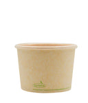 120-500-016 Soup/Food Cup EarthPro 16oz. Compostable Natural Paper, Stock Print