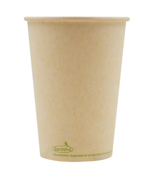120-500-032 Soup/Food Cup EarthPro 32oz. Compostable Natural Paper, Stock Print
