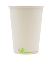 120-600-032 Soup/Food Cup EarthPro 32oz. Compostable White Paper, Stock Print