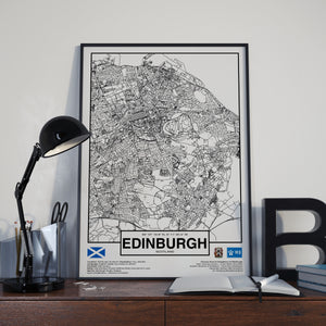 Edinburgh Scotland poster - World Cities