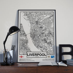 Liverpool England poster - World Cities