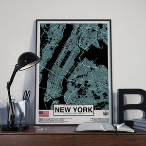 New York USA poster - World Cities