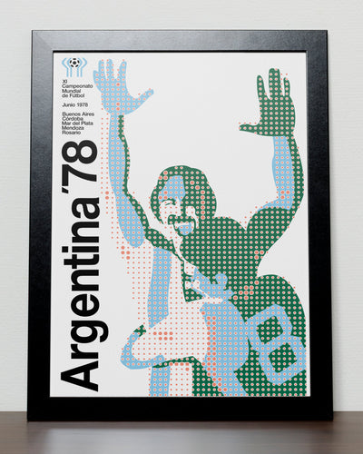 World Cup 1978 poster - Argentina 78