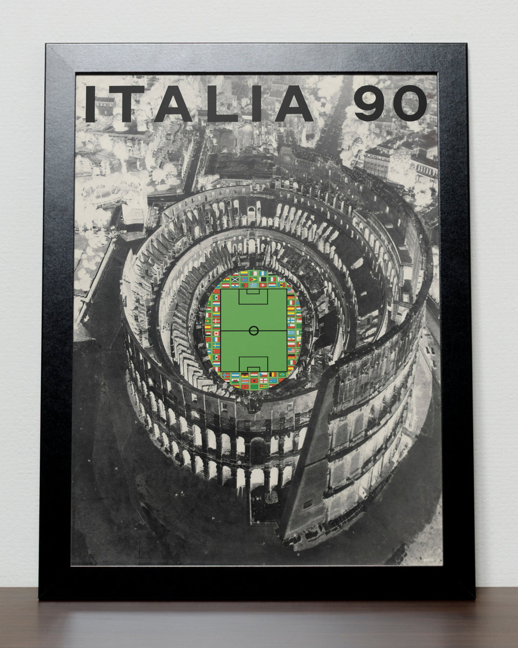 World Cup 1990 poster - ITALY 1990 Italia 90