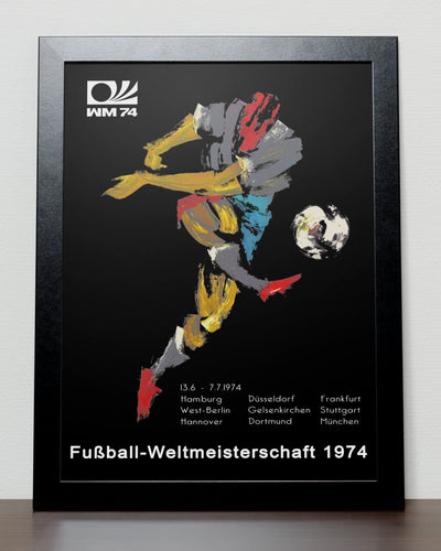 World Cup 1974 poster - Deutschland 74