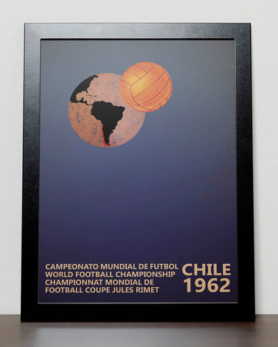 FIFA World Cup 1962 poster - Chile World Cup 1962