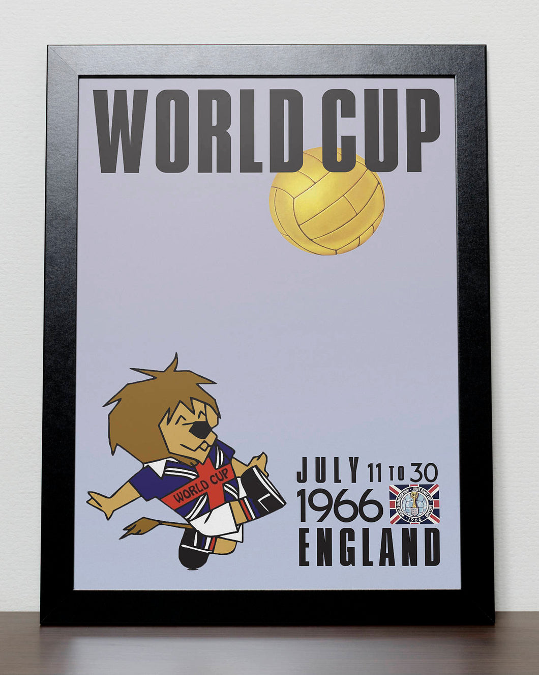 FIFA World Cup 1966 poster - England