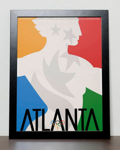 Atlanta - Olympic Games 1996 USA Poster