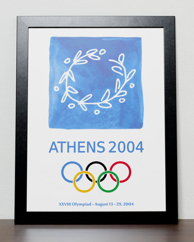 Athens - Olympic Games 2004 Greece Poster