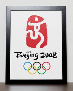 Beijing - Olympic Games 2008 Poster