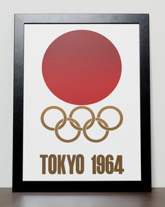 Tokyo - Olympic Games 1964 Japan Poster