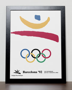 Barcelona - Olympic Games 1992 Spain Poster