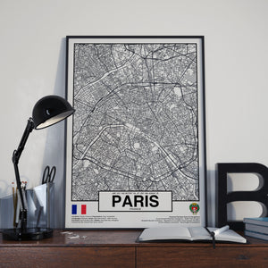 Paris City France poster - World Cities