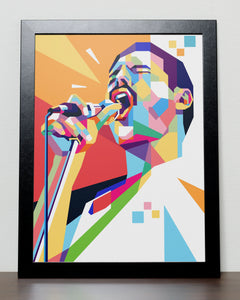Freddy Mercury Queen Poster