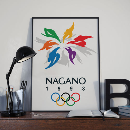 Nagano Winter Olympic Games 1998 Poster