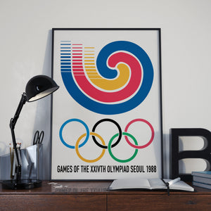 Seoul Olympic Games 1988 Poster