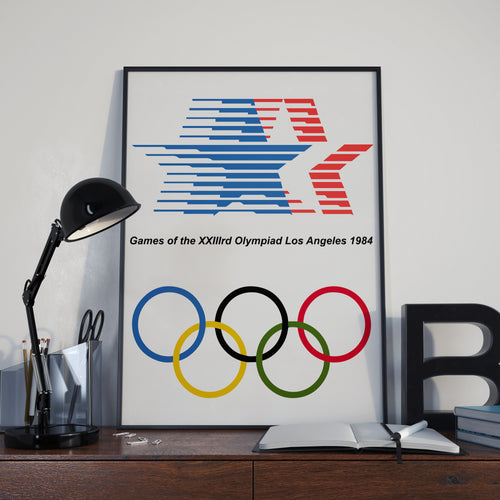 Los Angeles Olympic Games 1984 Poster