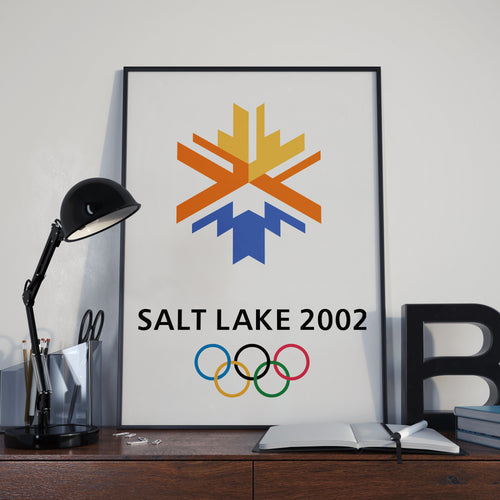 Salt Lake City Winter Olympic Games 2002 Poster
