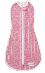 Original Woombie Swaddle - Dusty Rose Herringbone