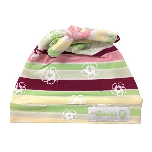 Woombie Cotton Beanie Rainbow Girl 0-6M