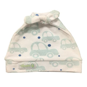 Woombie Cotton Beanie Little Cars 0-6M