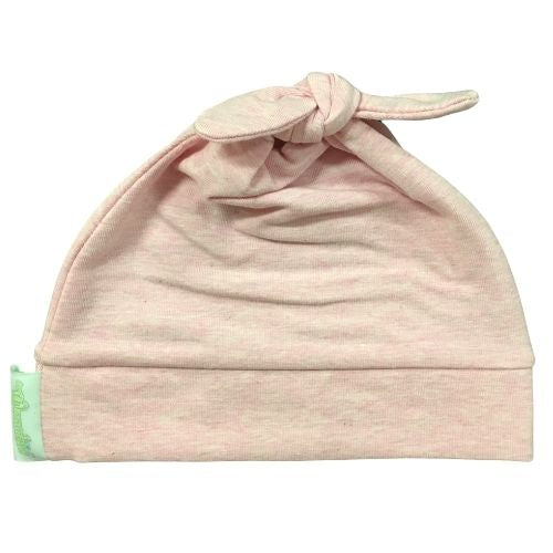 Woombie Cotton Beanie - Pink Posey 0-6M