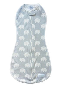 Woombie Original Dusty Elephant - Big Baby 3-6M/6.5-9KG