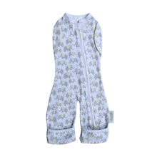 Load image into Gallery viewer, Woombie Convertible Leggies Happy Elephants- Big Baby 3-6M/6.5-9KG